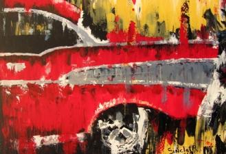 1957 Chevrolet fine art