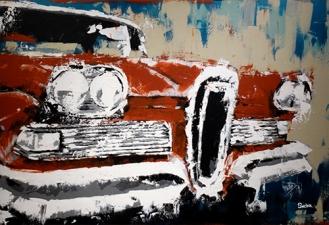 1958 Edsel fine art