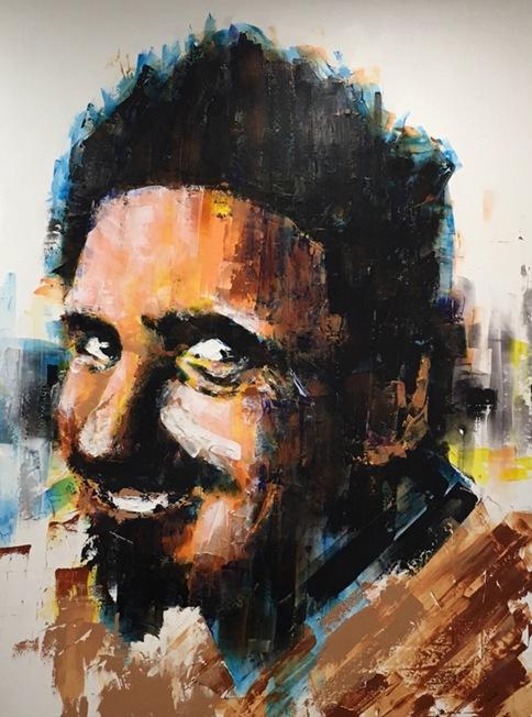 """Ed """"Big Daddy"""" Roth portrait"""