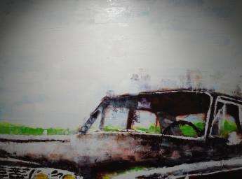 Ford Fairlane original art