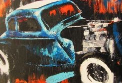 Rat Rod Coupe fine art print